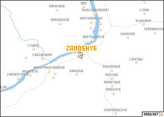 map of Zamosh\