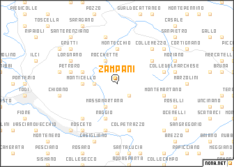 map of Zampani