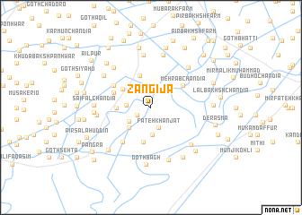 map of Zangīja