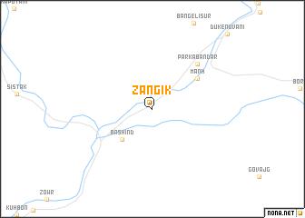 map of Zangīk