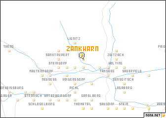 map of Zankwarn