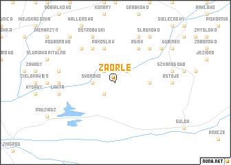 map of Zaorle