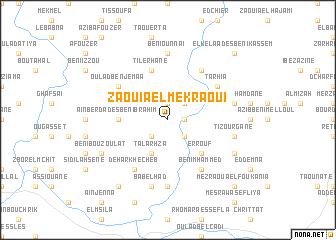 map of Zaouia el Mekraoui