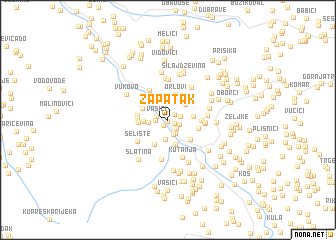 map of Zapatak