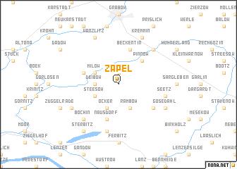 map of Zapel