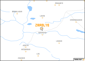 map of Zapol\