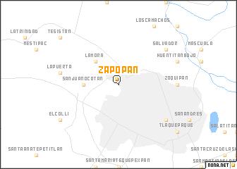 Zapopan Mexico map nonanet