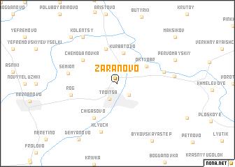 map of Zaranovo