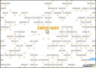 map of Zarenthien
