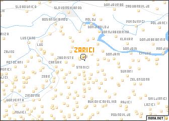 map of Zarići