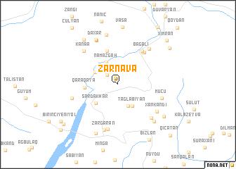 map of Zǝrnava