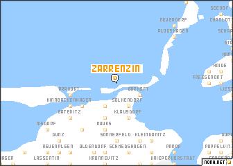 map of Zarrenzin