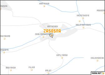 map of Zasosna