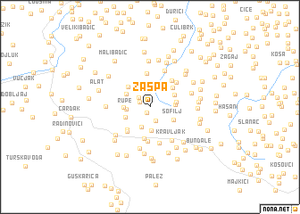 map of Zaspa
