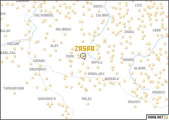 map of Zaspa