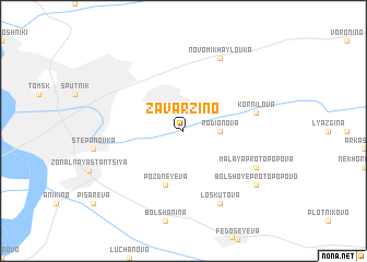 map of Zavarzino
