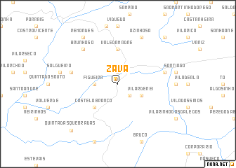 map of Zava