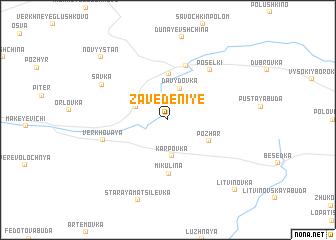 map of Zavedeniye