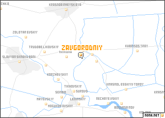 map of Zavgorodniy