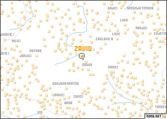 map of Zavid