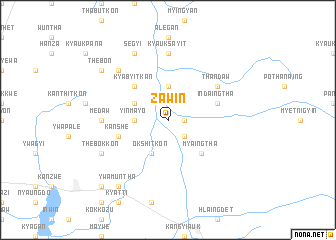 map of Zawin