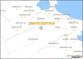 map of Zāwiyat Qunţash