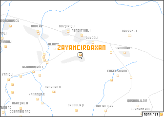 map of Zǝyǝm Cırdaxan