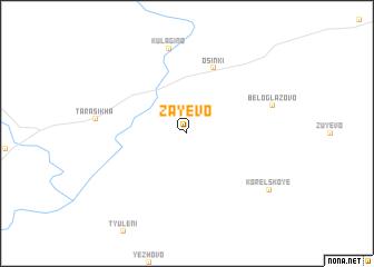 map of Zayevo