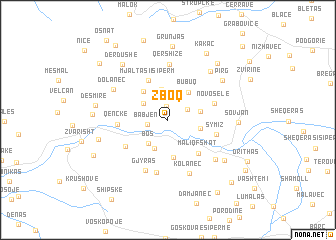 map of Zboq