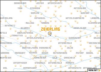 map of Zeierling