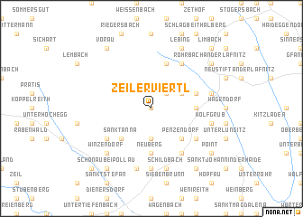 map of Zeilerviertl