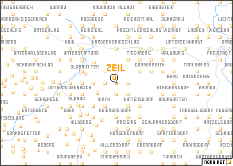 map of Zeil