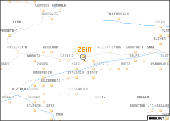 map of Zein