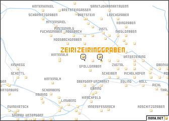 map of Zeiringgraben