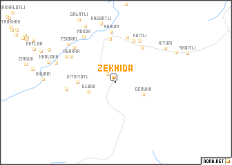 map of Zekhida