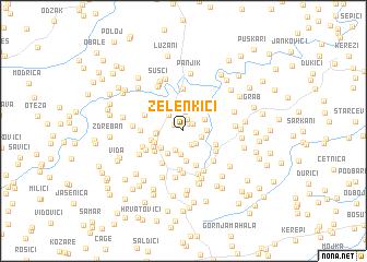 map of Zelenkiči