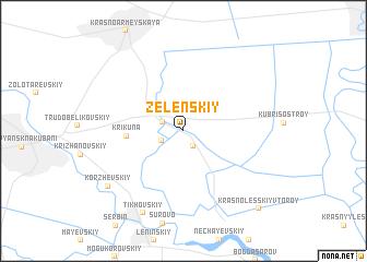 map of Zelenskiy