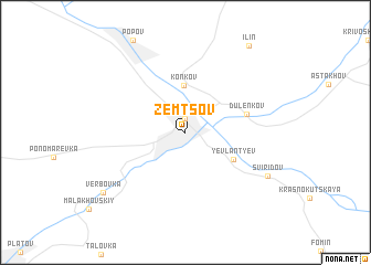 map of Zemtsov