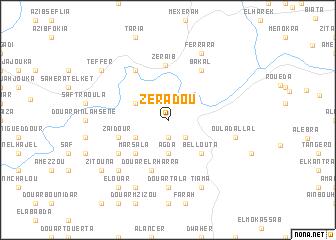 map of Zeradou