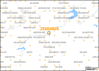 map of Zeughaus