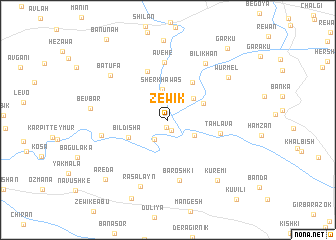 map of Zēwik