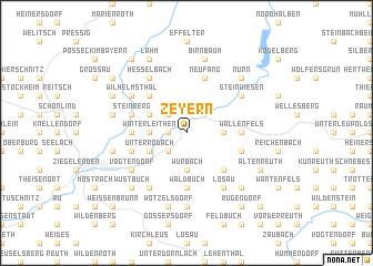 map of Zeyern
