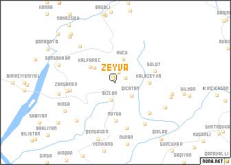 map of Zeyvǝ