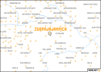 map of Zgornja Jamnica
