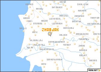 map of Zhabjak