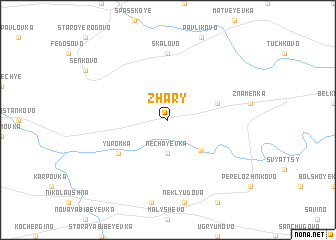 map of Zhary