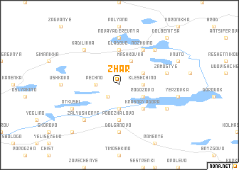 map of Zhar