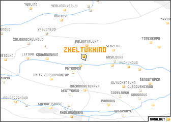 map of Zheltukhino