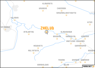 map of Zhelŭd