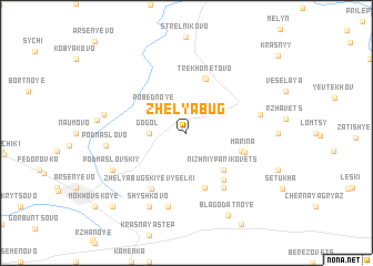 map of Zhelyabug